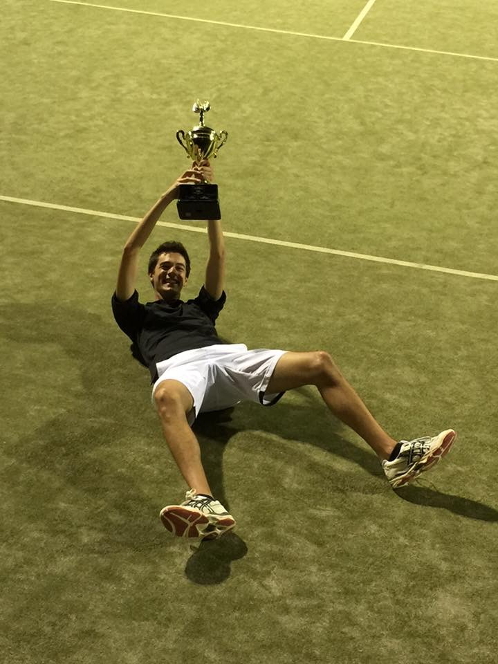 pride tennis winner cup